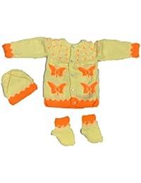 Cutiepie Collection Handmade Woolen Sweater Set