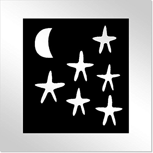 10cm 'Cielo Nocturno' Espejo de Acrílico Decorativo (MT00012932)