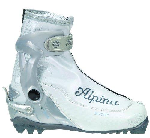 Alpina Damen-SSK Eve Sport Serie Langlauf Nordic Skate Ski Stiefel, perlweiß