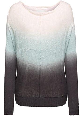 khujo -  Maglione  - A righe - Maniche lunghe  - Donna grün-grau (D7AQU-GREE) 44