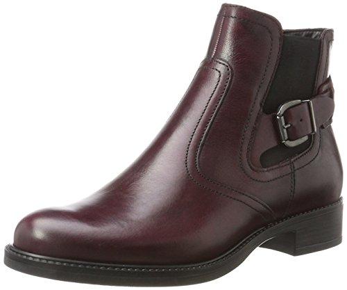 Tamaris Damen 25002 Stiefel, Rot (Bordeaux), 37 EU (Leder-schuhe Rote)