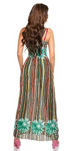 In-Stylefashion - Robe - Femme vert vert taille unique Vert