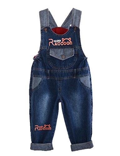 GGBaby@ Latzhose Kinder Baby Jungen Mädchen Jeanshose Latzhosen Jeans Hosen Baby Kinder Overall C 100