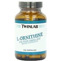 Twinlab, L-Ornithine, 500 mg, 100 Capsules