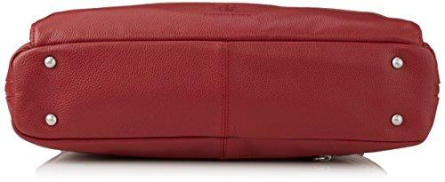 JOST 2511-001 Aktentasche, 42 cm, Black Red