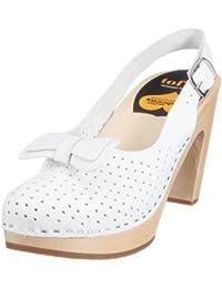 Swedish Hasbeens Mimmi 302 - Zapatos de vestir de cuero para mujer