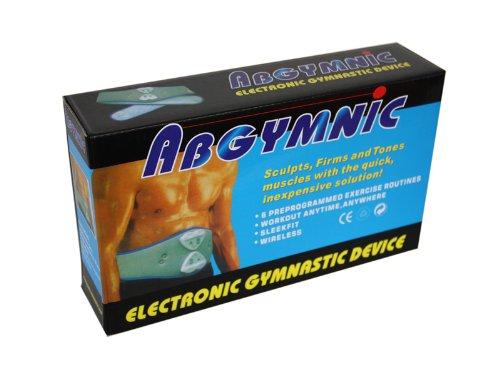 Cinturon Abdominal + Gel de Contacto Abgymnic Electroestimulacion Musculacion Fitness