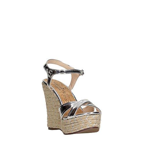 Pacomena 07364 Sandalo Donna PLATA/SILVER