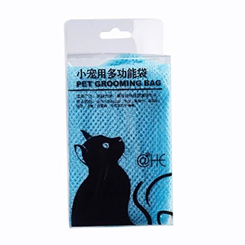 Fantasyworld Haustier-Katzen-Grooming Restraint Taschen Cat Grooming-Beutel für Bade Injecting Prüfungs Nail Trimmen Nägel Reinigung