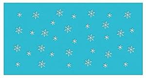 Ursus 18420040Siluetas Mesa Luces Colgante Grano Copo de Nieve
