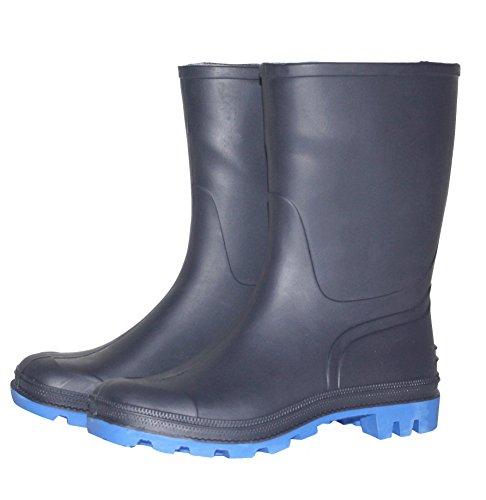 Bild von Bockstiegel Herren Gummistiefel Gr. 41-45 Regenstiefel Stiefel Stiefelette blau