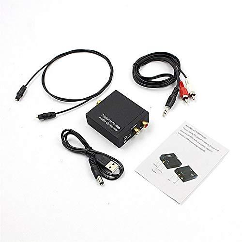 Peanutaso Cable convertidor Audio Toslink coaxial