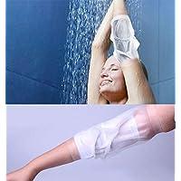 Protector de línea de PICC impermeable para ducha, brazo medio, arcoíris, fundido para niños adultos, (Peso: 88-210 libras)