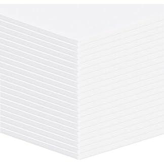 20unidades Altera ligeramente placas de espuma, placas de plástico blanco Formato: A2(42x 59,4cm)