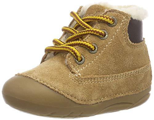 Lurchi Baby Jungen FERDI Sneaker, Beige (Tan 27), 21 EU