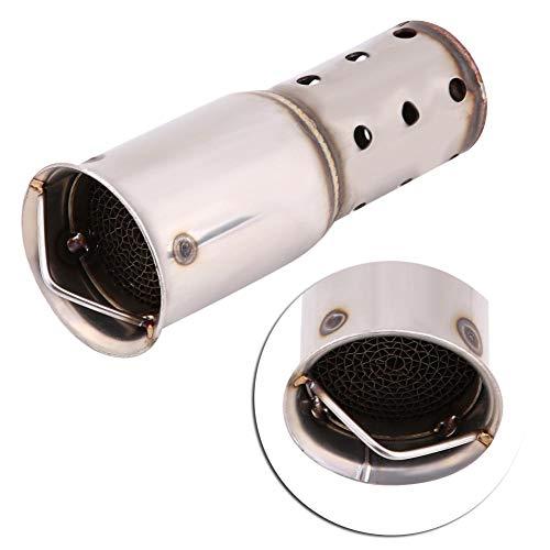 Acouto 51mm Universal Motorrad Schalldämpfer Schalldämpfer Einsatz DB Killer Noise Eliminator(Stil 2)