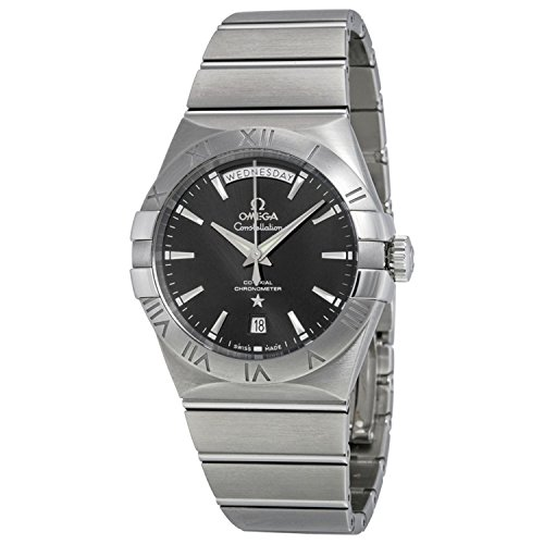 OMEGA MEN'S CONSTELLATION 38MM STEEL CASE AUTOMATIC WATCH 123.10.38.22.01.001