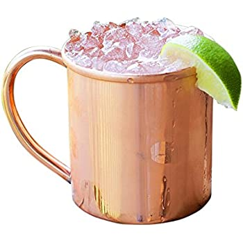 Copper Mug for Moscow Mules - 100% pure copper