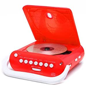 duronic rcd025r portable red cd player with am electronics. Black Bedroom Furniture Sets. Home Design Ideas