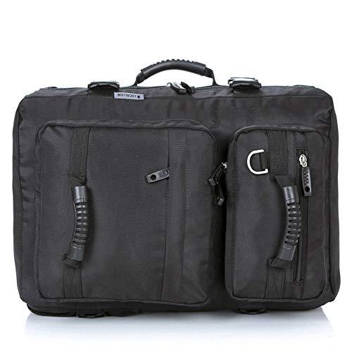 MZTYX De 15 Zoll Notebook Rucksack, Multi-Function Laptop Rucksack Casual Shoulder Bag Outdoor Laptop-Handtasche,Black,32 * 20 * 48cm