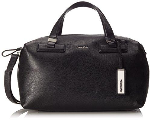 Calvin Klein Jeans KATE Damen Schultertasche 18x20x33 cm (B x H x T), Schwarz (Black 001)