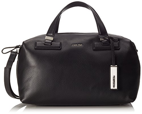 Calvin-Klein-Jeans-Womens-Kate-Duffle-Shoulder-Bag-Black-Black-001-18-x-20-x-33-cm-B-x-H-x-T