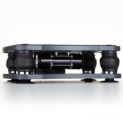 skandika Home Vibration Plate 500, Profi Vibrationsgerät, inklusive Trainingsbänder mit großer rutschsicheren Trainingsfläche, Fernbedienung und kraftvoller 3D-Vibration - 5