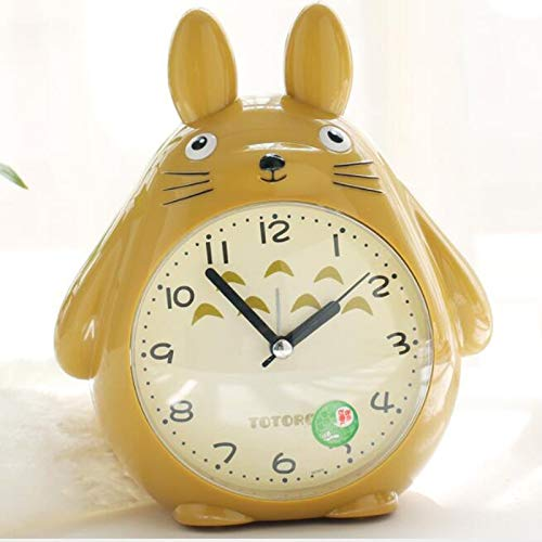 ZYJCC Wecker Einrichtung Miniaturen Uhr Weihnachten Handwerk Totoro Cartoon New Digital Snooze Wecker Totoro Clock -