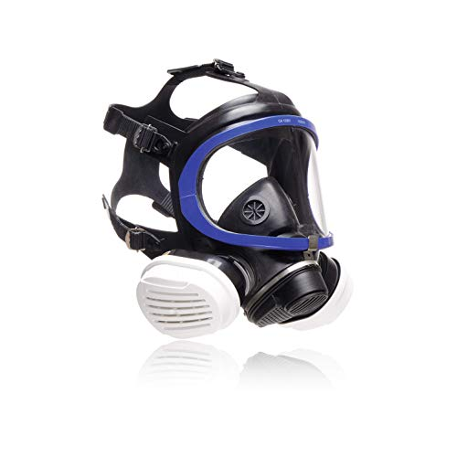 Dräger X-plore 5500 Vollmasken-Set inkl. A2P3 Kombi-Filter | Universalgröße | Atemschutz-Maske für Maler & Lackierer gegen Gase, Dämpfe, Fein-Staub/Partikel