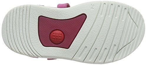 Biomecanics 162161, Sandales ouvertes fille Rose - Pink (FUCSIA)