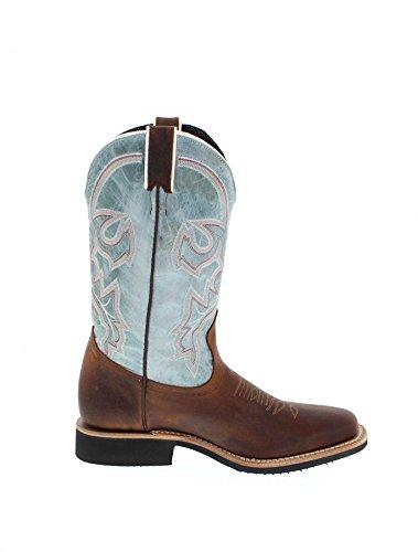 Boulet , Bottes et bottines cowboy femme Golden Turquoise (Weite C)