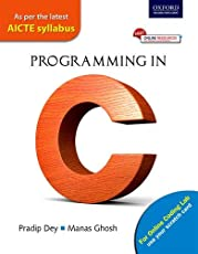 Programming in C: As per the latest AICTE syllabus
