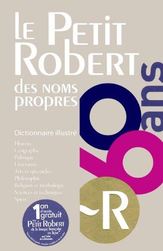 PETIT ROBERT NOMS PROPRES 2012