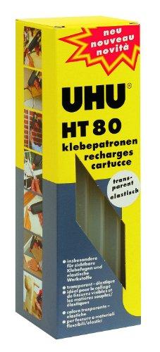 Uhu 47880 - Heißklebepatronen HT 80, 500 g, transparent