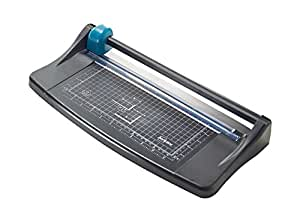 Avery A4 TR002 Photo and Paper Trimmer - paper cutter, Black and Teal