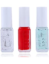Essie Mini Kit Routine Base de Vernis + Vernis fifth avenue + Top Coat 15 ml