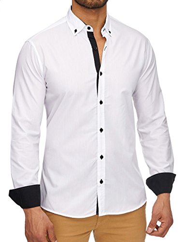 lab-1928-chemise-casual-col-boutonne-homme-blanc-xxxx-large