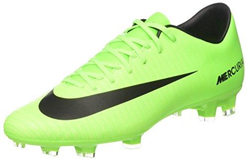 Nike Mercurial Victory Vi Fg, Scarpe per Allenamento Calcio Uomo, Verde (Electric Green/Flash Lime/White/Black), 42.5 EU