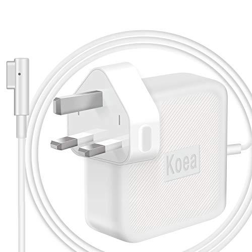 Koea Ersatz-Ladegerät für MacBook Air 11 Zoll / 33 cm MacBook Air 11 Zoll / 33 cm (11 Zoll) bis Mitte 2012 Modell A1237 A1244 A1269 A1270 A1304 A1369 A1370 A1374