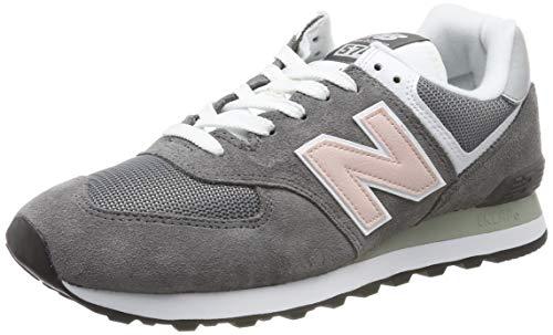 New Balance Damen 574v2 Sneaker, Grau Castlerock, 39 EU (New Balance Damen)