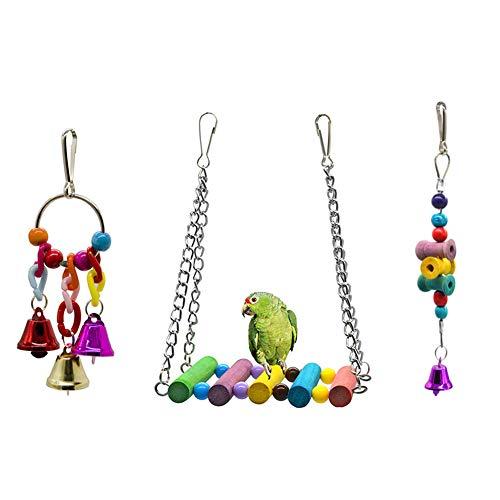 Dsaren Juguetes Pájaros Colorful Columpio