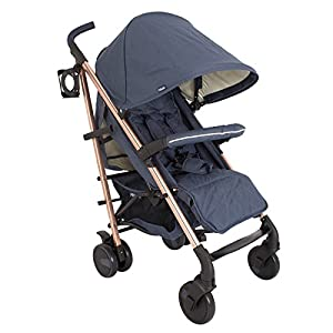 My Babiie Billie Faiers MB51 Rose Navy Stroller   11