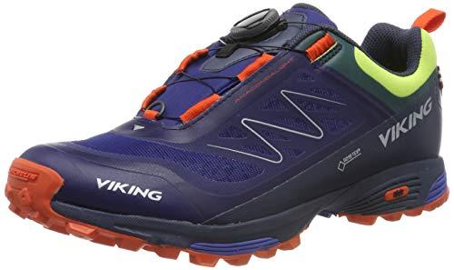 viking Unisex-Erwachsene Anaconda Light BOA GTX Trekking-& Wanderhalbschuhe, Dark Blue/Navy, 42 EU