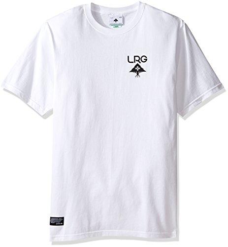 LRG Herren Oberteile / T-Shirt Logo Plus Weiß