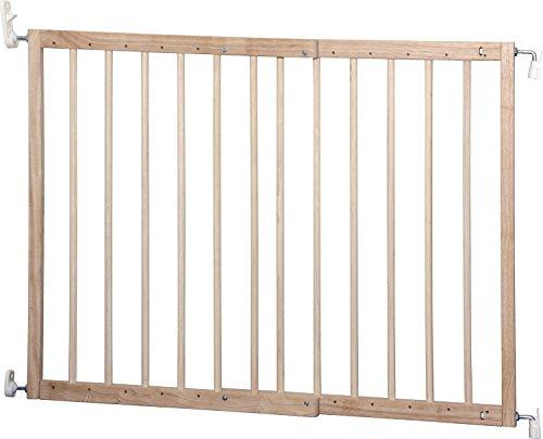 IB-Style – Treppengitter / Türgitter KIM | Spannbreite: 63 – 103.5 cm | zum Schrauben | aus massivem Holz – Natur - 3