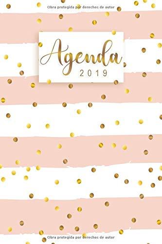 Agenda 2019: Organiza tu día - Agenda semanal 12 meses - Enero a Diciembre 2019 por Felissa