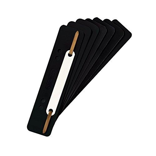 Preisvergleich Produktbild Herlitz 10839132 Heftstreifen PP, 3,4 x 15 cm, 25 Stück, schwarz