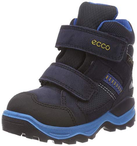 ECCO Unisex-Kinder Snow Mountain Schneestiefel, Blau (Black/Night Sky 51237), 29 EU