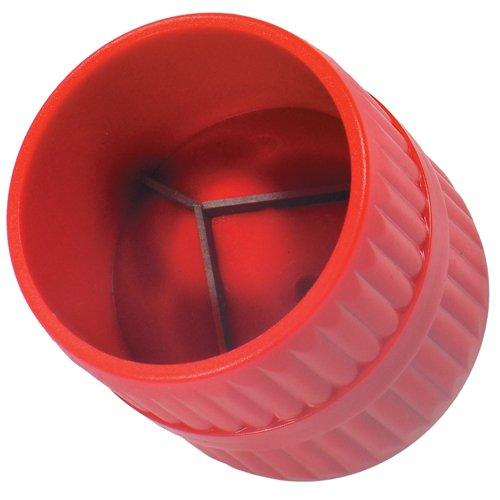 ALKAN - 2 in 1 Kupferrohr Rohre Entgrater für INNEN und AUßEN 6-38 mm Kunststoffkörper