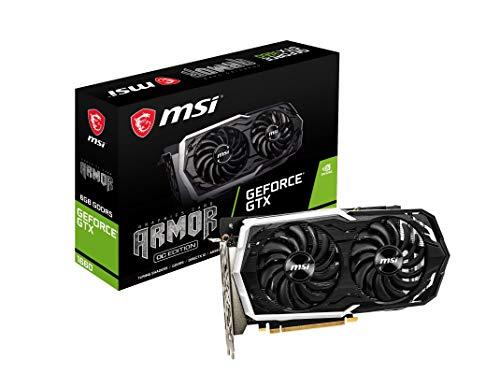 MSI GeForce GTX 1660 ARMOR 6G OC (6GB GDDR5/PCI Express 3.0/1845MHz/8000MHz)